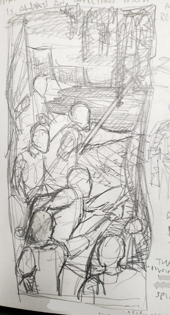 sketchbook writing