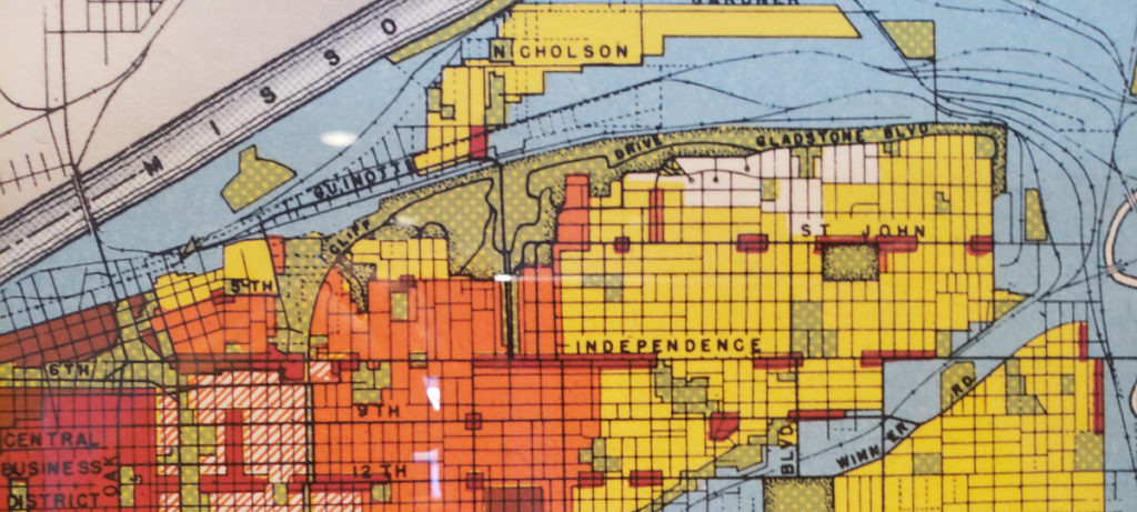 1941 Land Use Map Kansas City