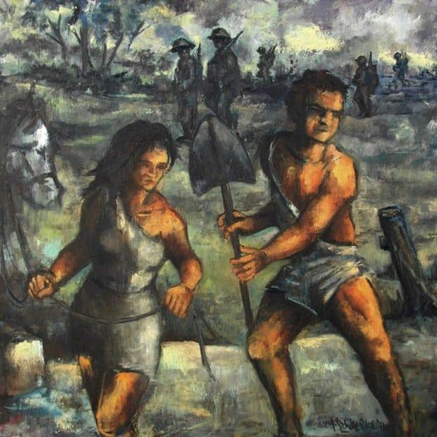 The Grave Shift - oil on canvas - Michael Schliefke