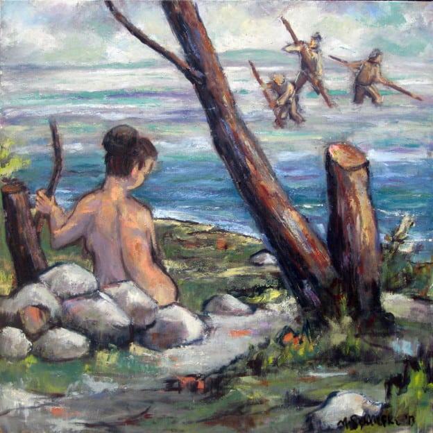Love's Labour Lost - oil on canvas - Michael Schliefke