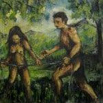 The Steward's Folly - oil on canvas - Michael Schliefke