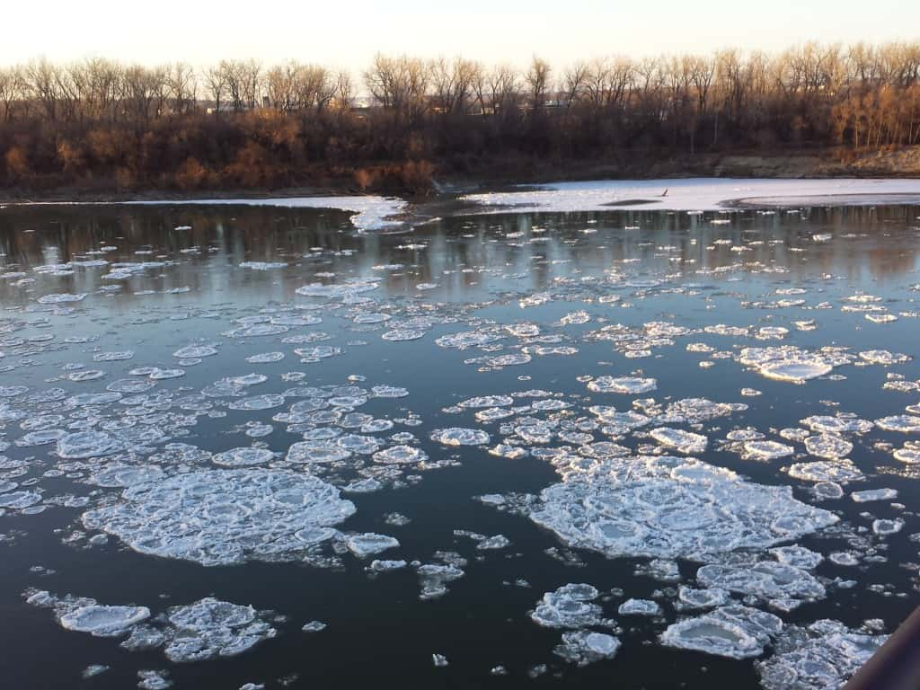Missouri River - Frazil Pans