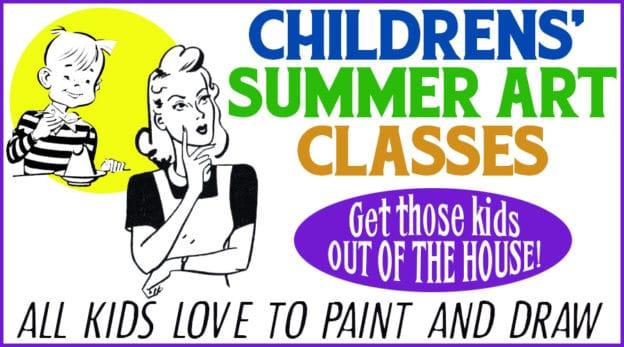 Summer Art Classes for Kids