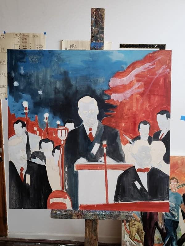 new oil paintings in progress