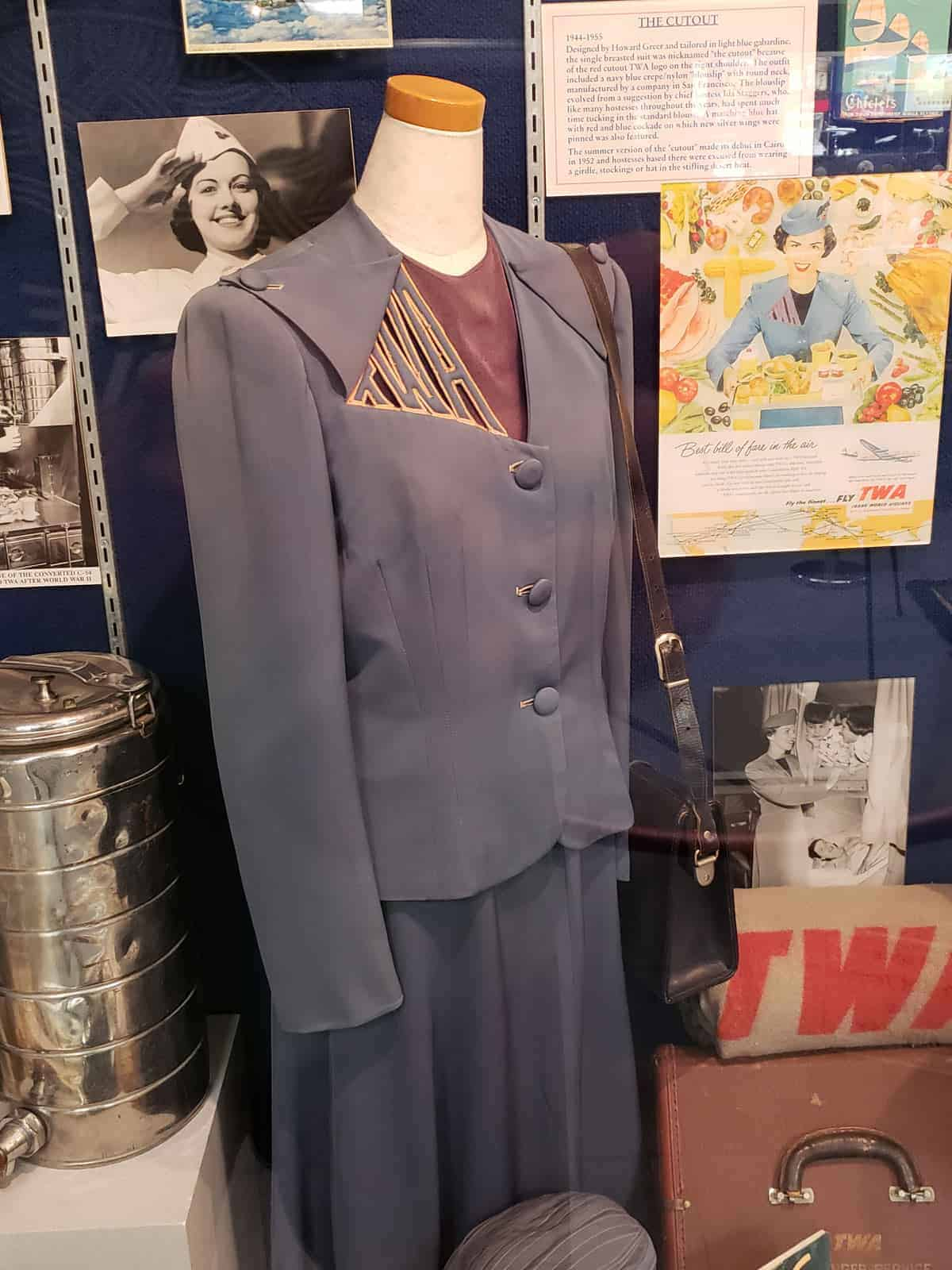 TWA hostess outfit