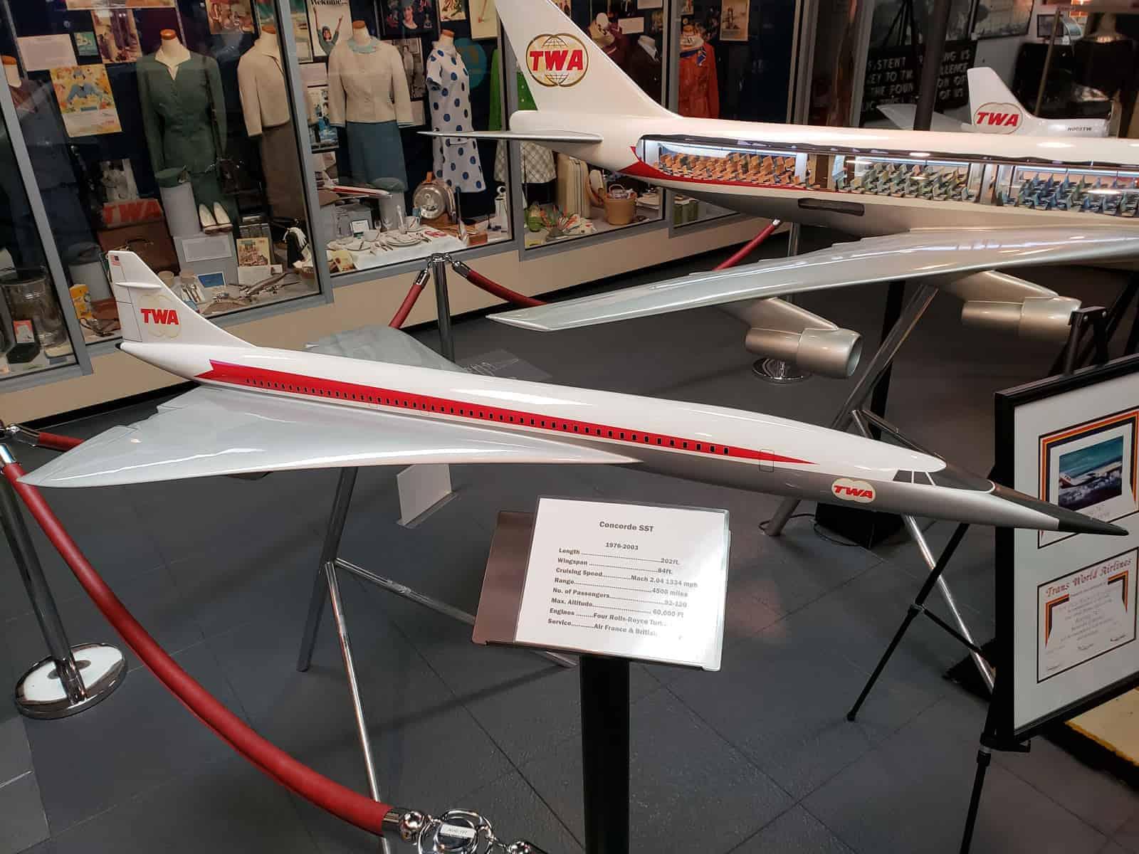 TWA Concorde