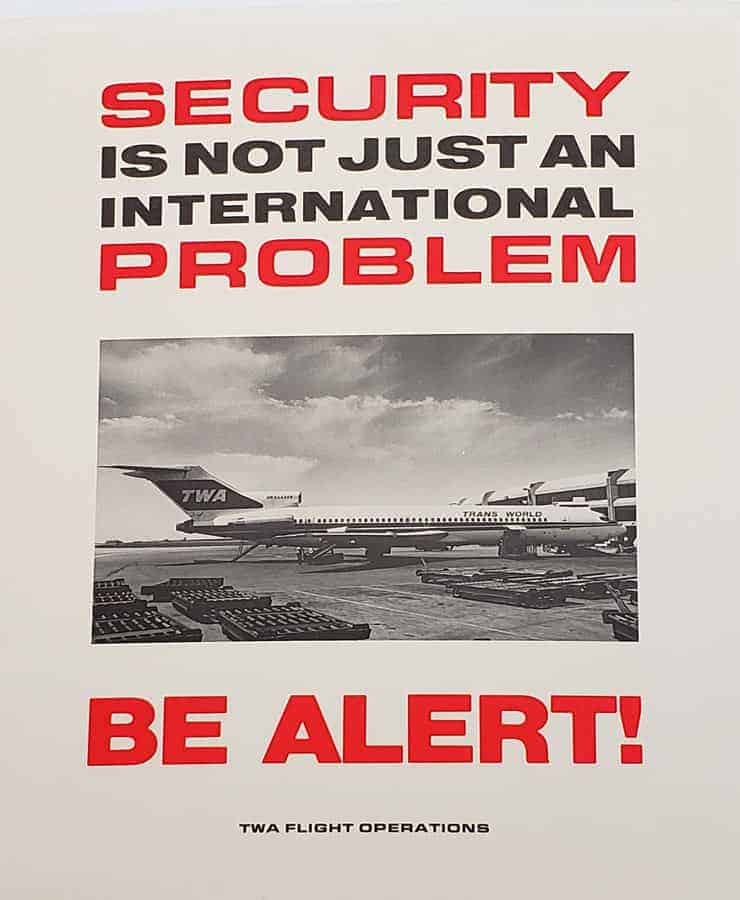 TWA Museum Security
