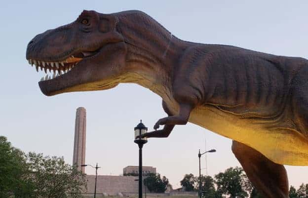 Union Station Dinosaurs Gets Shannon P.'s Thumbs Up