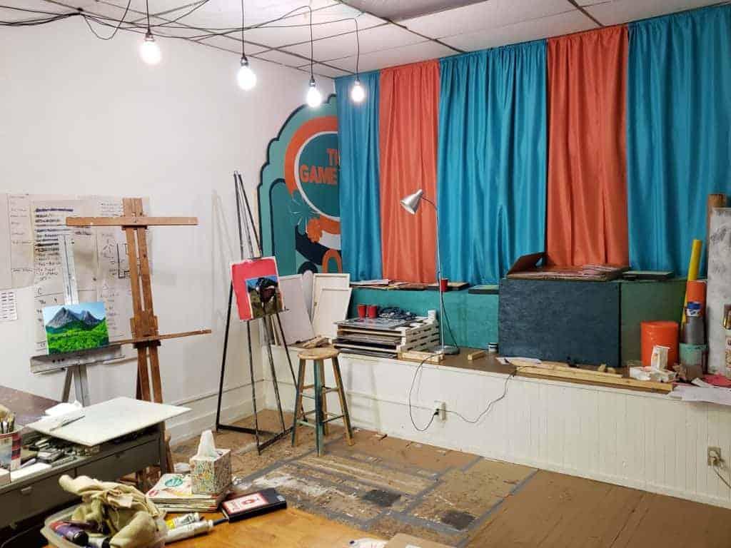 open studio & sale