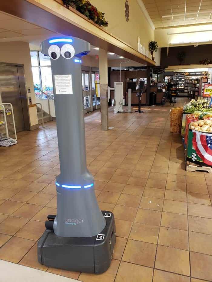 Stop n Shop Robot
