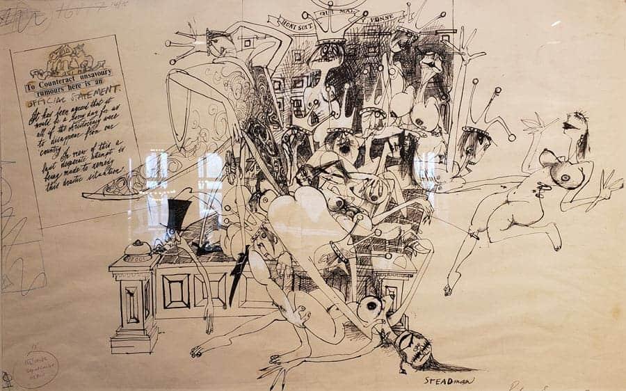 Ralph Steadman: A Retrospective
