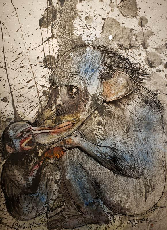 Steadman painting