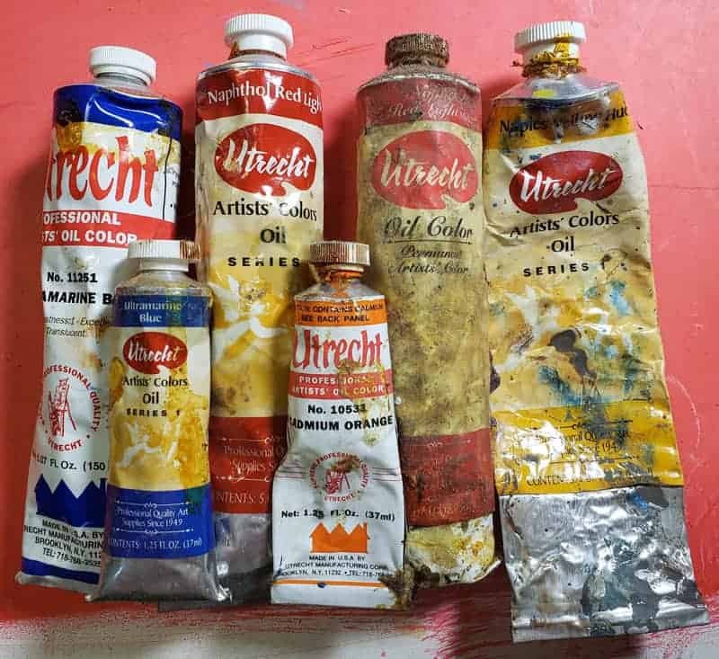 Utrecht Oil Paints
