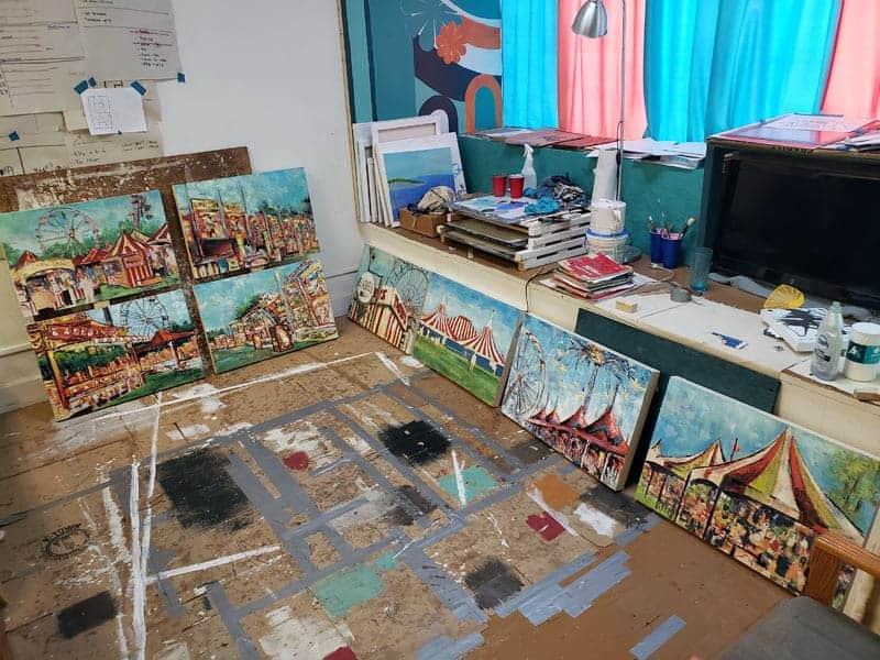 carnival paintings