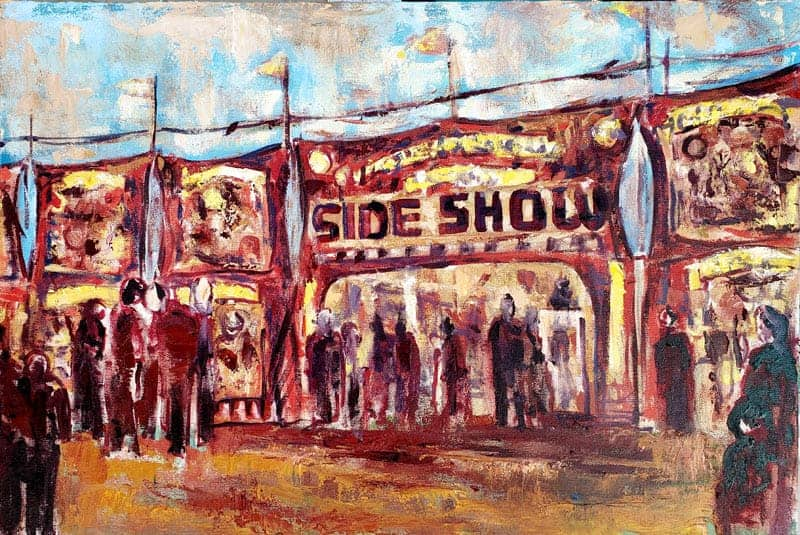 Sideshow Painting