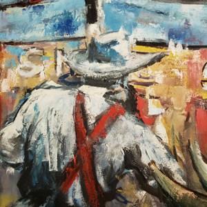 finishing paintings
