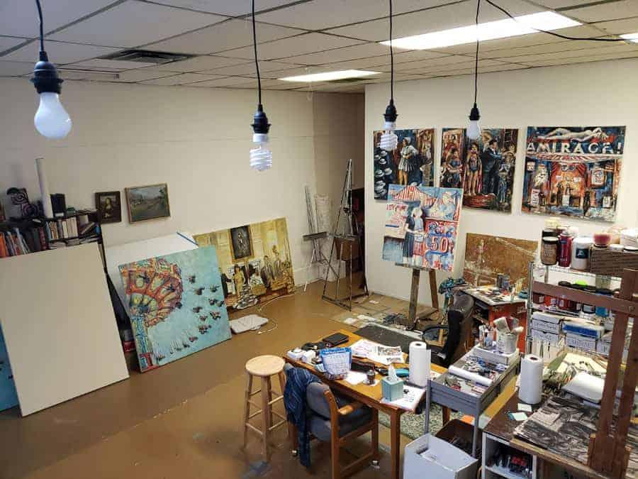 Kansas City art studio
